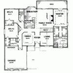 Simple One Story Bedroom House Plans Eplans Ranch Plan Trim