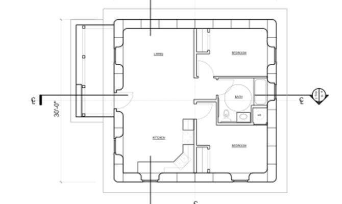 Simple Open House Plans Smalltowndjs