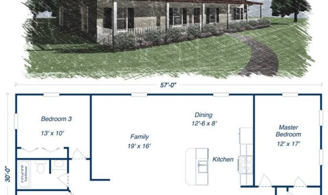 Simple Pole Barn Home Plans Homemade Ftempo