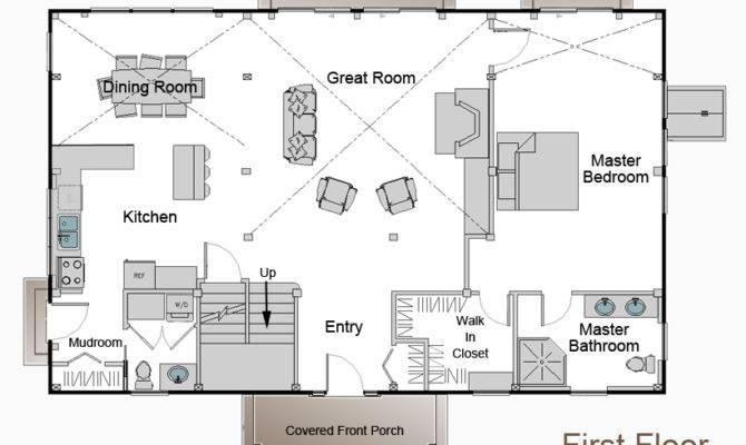 Simple Pole Barn House Plans Homes Floor