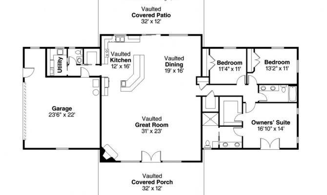 Simple Ranch House Floor Plans Unique