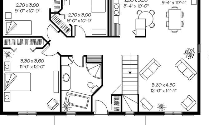 Simple Ranch House Plans Smalltowndjs