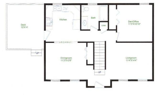 Simple Ranch Style House Plans Awesome Floor Small