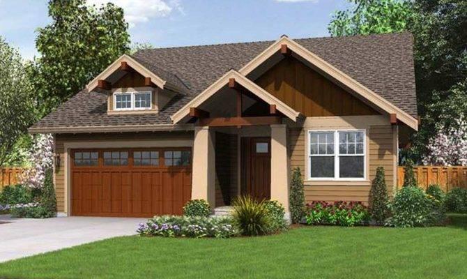 Simple Small Craftsman House Plans Exterior Homescorner