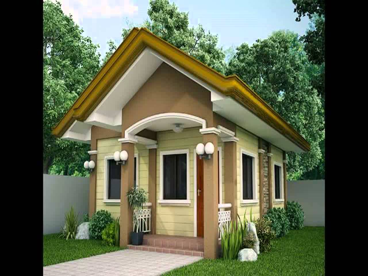 Simple Small Home Design Photos Youtube   House Plans   20