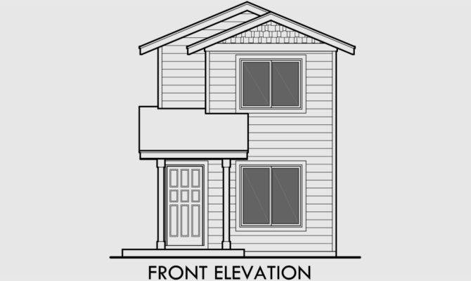 Simple Small Two Story House Plans Floor