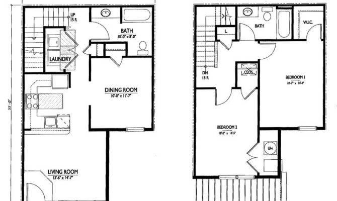 Simple Storey House Plans Homes Floor