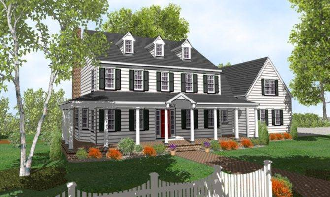 Simple Story Cottage Style House Plans