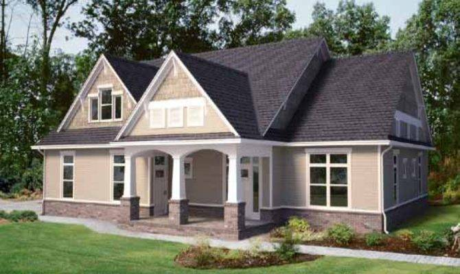 Simple Story Craftsman Style House Plans