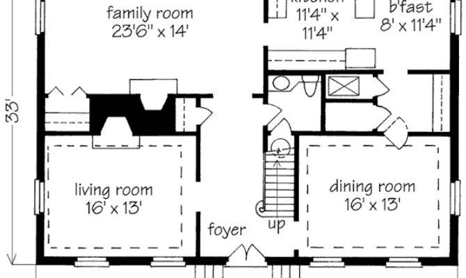 Simple Story House Plans Smalltowndjs