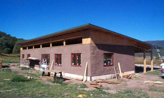 Simple Straw Bale House Earthen Touch Natural Builders