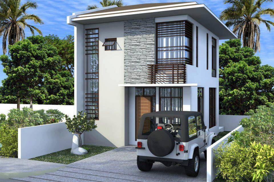 Simple Two Storey House Design Philippines House Plans 19400