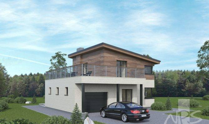 Simple Two Storey House Project Stands Out