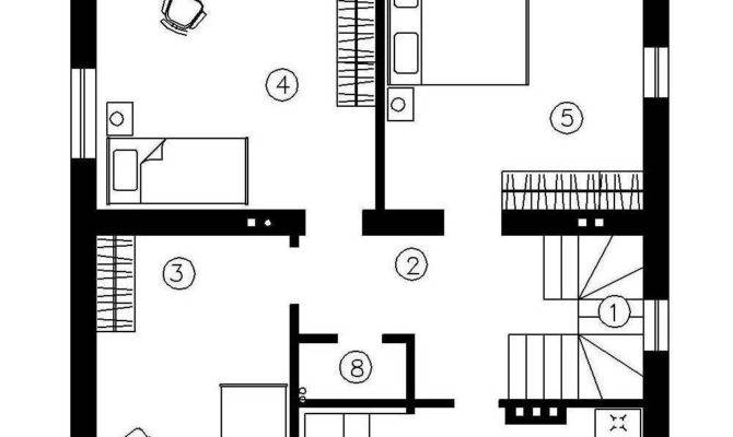 Simple Two Story Houses House Plan Eve Sqm