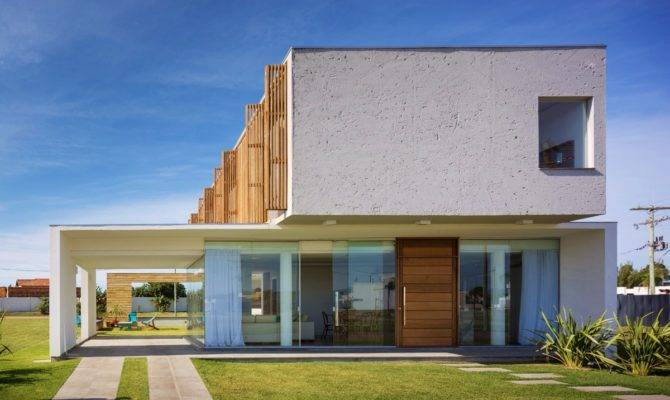 Simple Two Story Rectangular House Design Kitchen Plan