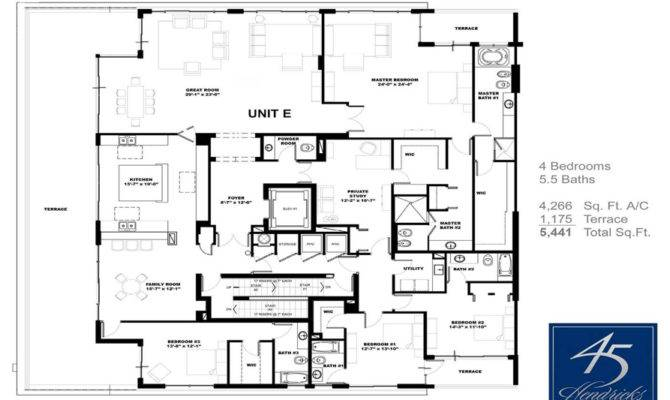 Simple Waterfront Floor Plans Ideas