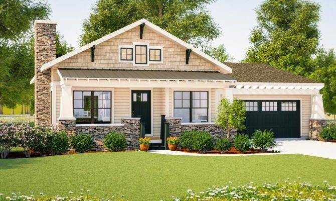 Simply Simple One Story Bungalow Architectural