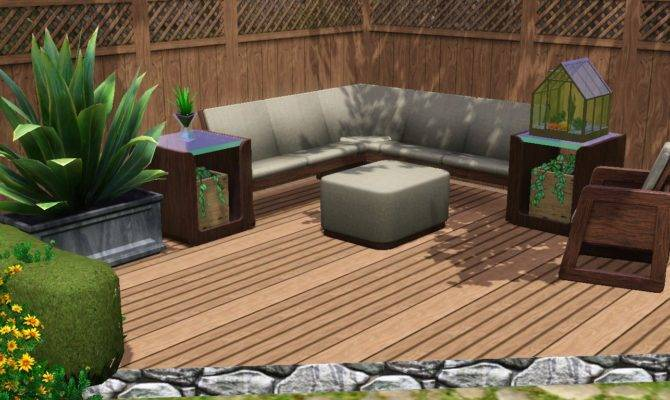 Sims Backyard Designs Outdoor Furniture Design Ideas
