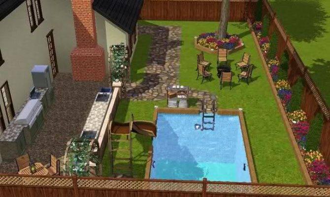 Sims Backyard Ideas Outdoor Furniture Design