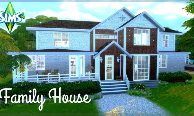 Sims Big House Speed Build Youtube