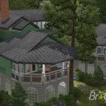 Sims Big Traditional House Basement