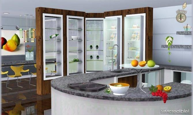 Sims Blog Audacis Kitchen Set Simcredible Designs