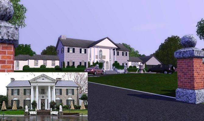 Sims Blog Graceland Elvis Presley Mansion Kingdonlwt