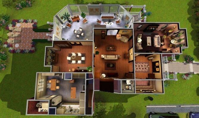 Sims Blog Halliwell Manor Heaven Sent
