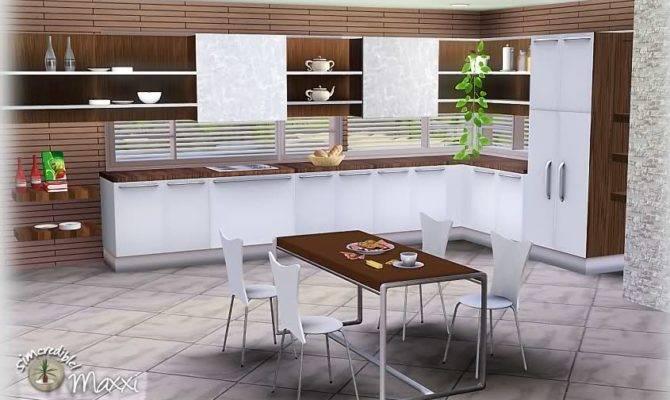 Sims Blog Maxxi Kitchen Set Part Simcredible Designs