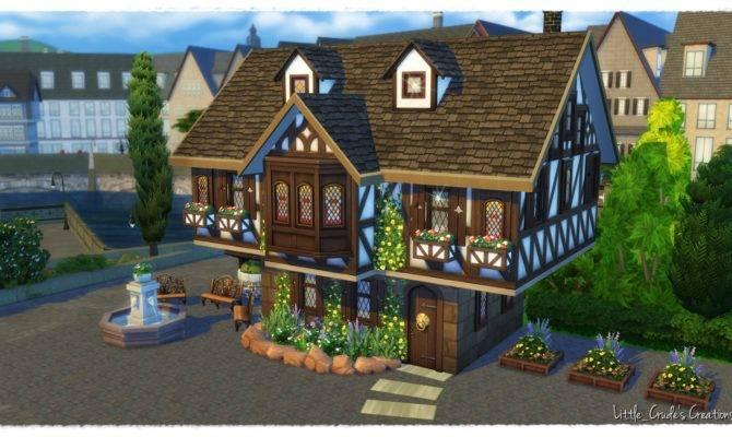 Sims Build Tutorial Tudor House