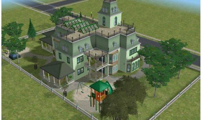 Sims Green Victorian Mansion Ramborocky Deviantart