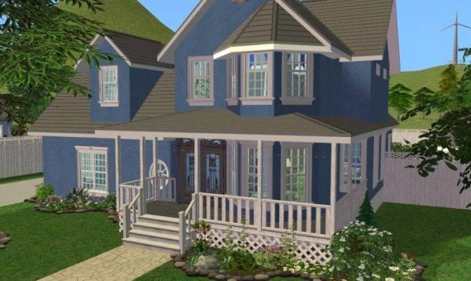 Sims Home Ideas Split Level Living Room