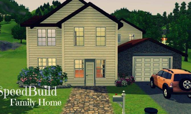 Sims Home Speed Build Youtube