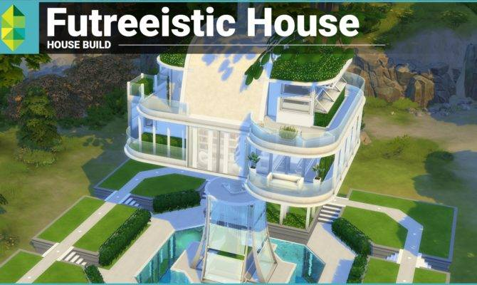 Sims House Building Futreeistic