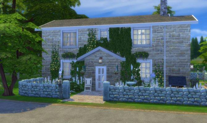 Sims House Building Guide Modern Plan