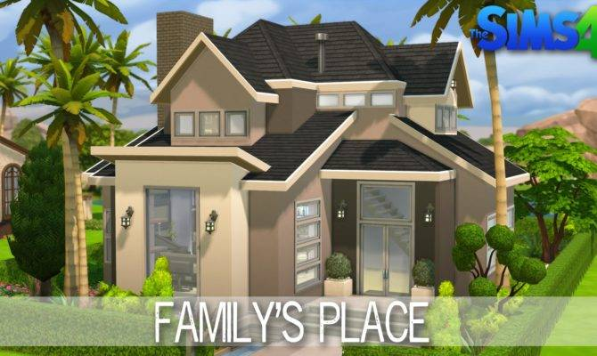 Sims House Building Place Speed Build