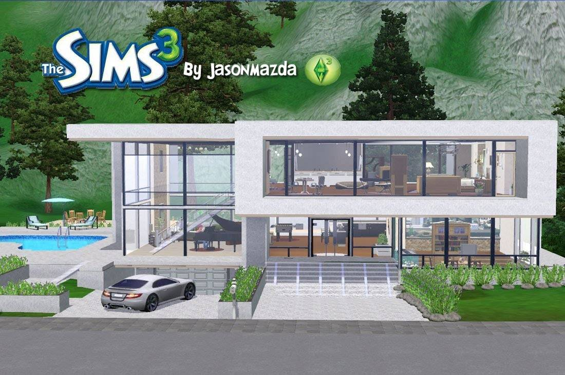Sims House Designs Modern Unity Youtube - House Plans  #20