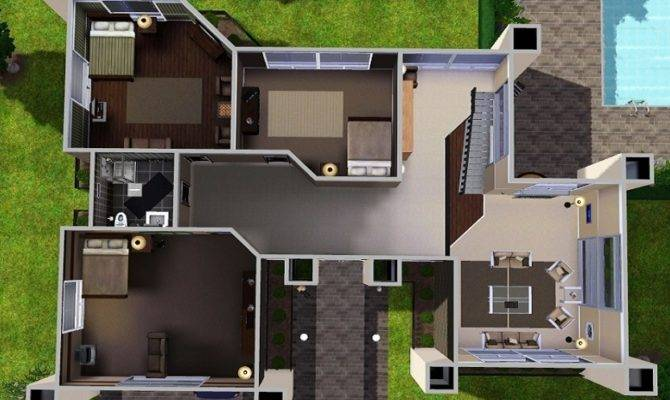 17 Spectacular The Sims 2 House Plans House Plans