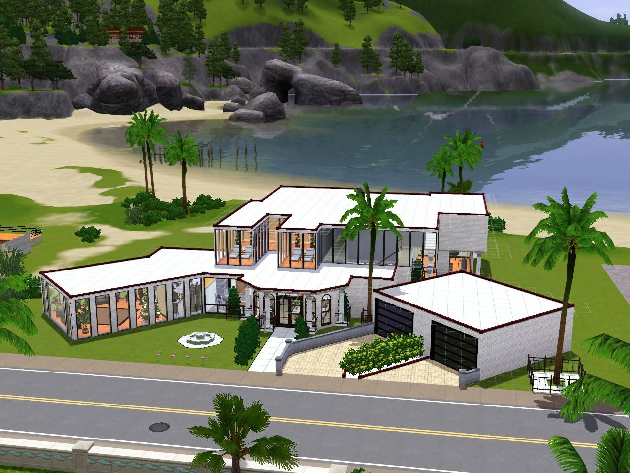 Sims House Ideas Designs Xbox Modern Home Design - House Plans