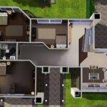Sims House Ideas Plans Modern Floor