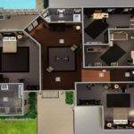 Sims House Plans Mansion Floor