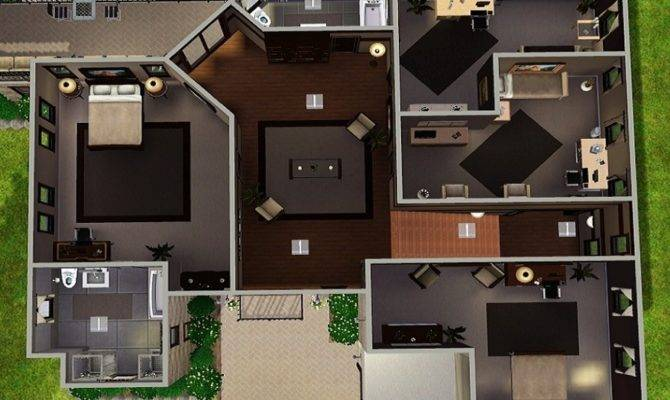 Sims House Plans Over