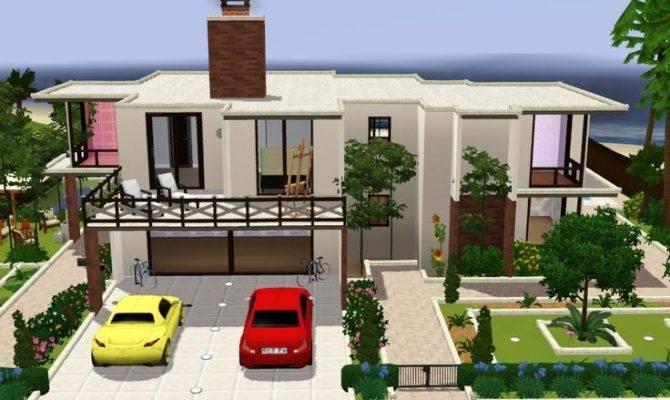 Sims Houses Ideas Pinterest House