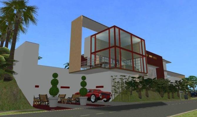 Sims Houses Modern House