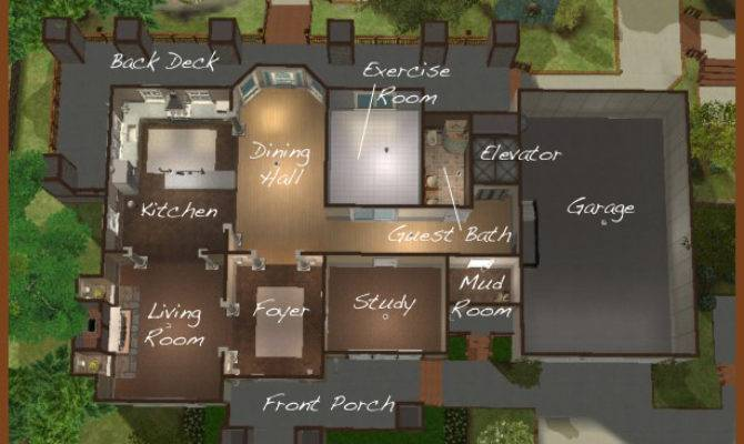 Sims Layouts House Best Design