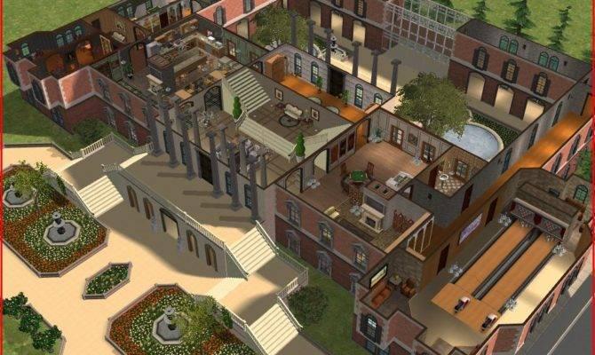 Sims Luxury Mansion Ramborocky Deviantart