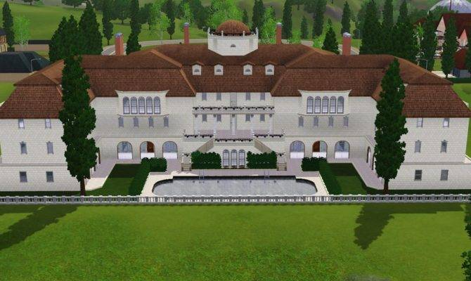 Sims Luxury Mansion Ramborocky Deviantart