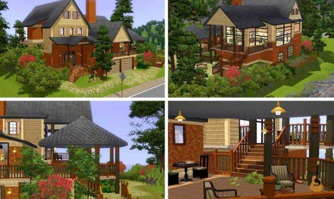 Sims Mansion Floor Plans Car