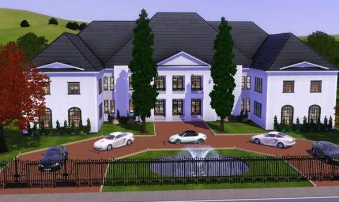 Sims Mansion Housess Pinterest