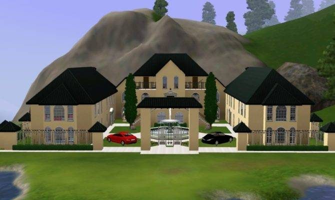 Sims Mansion Imgkid Has